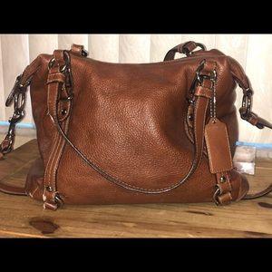 Large coach bag lightly used